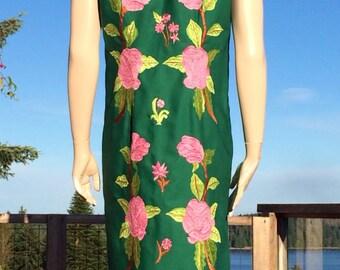 Vintage Boho Embroidered HIPPIE Festival DUSTER Vest