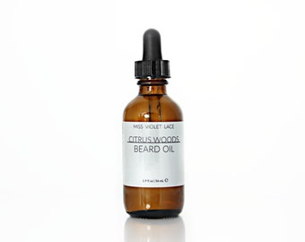 Citrus Woods Beard Oil | 100% natural and vegan oil for men