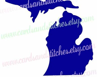 Michigan Stencil - State Stencil - Reusable Stencil - Stencil - Art Stencil - Craft Stencil - Great for Walls, Fabric, Clothes, Wood