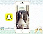 Snapchat GeoFilters, Wedding Snapchat Filters, Bridal Party Snapchat Filter, Custom Snapchat GeoFilter, Personalized Snapchat Filter