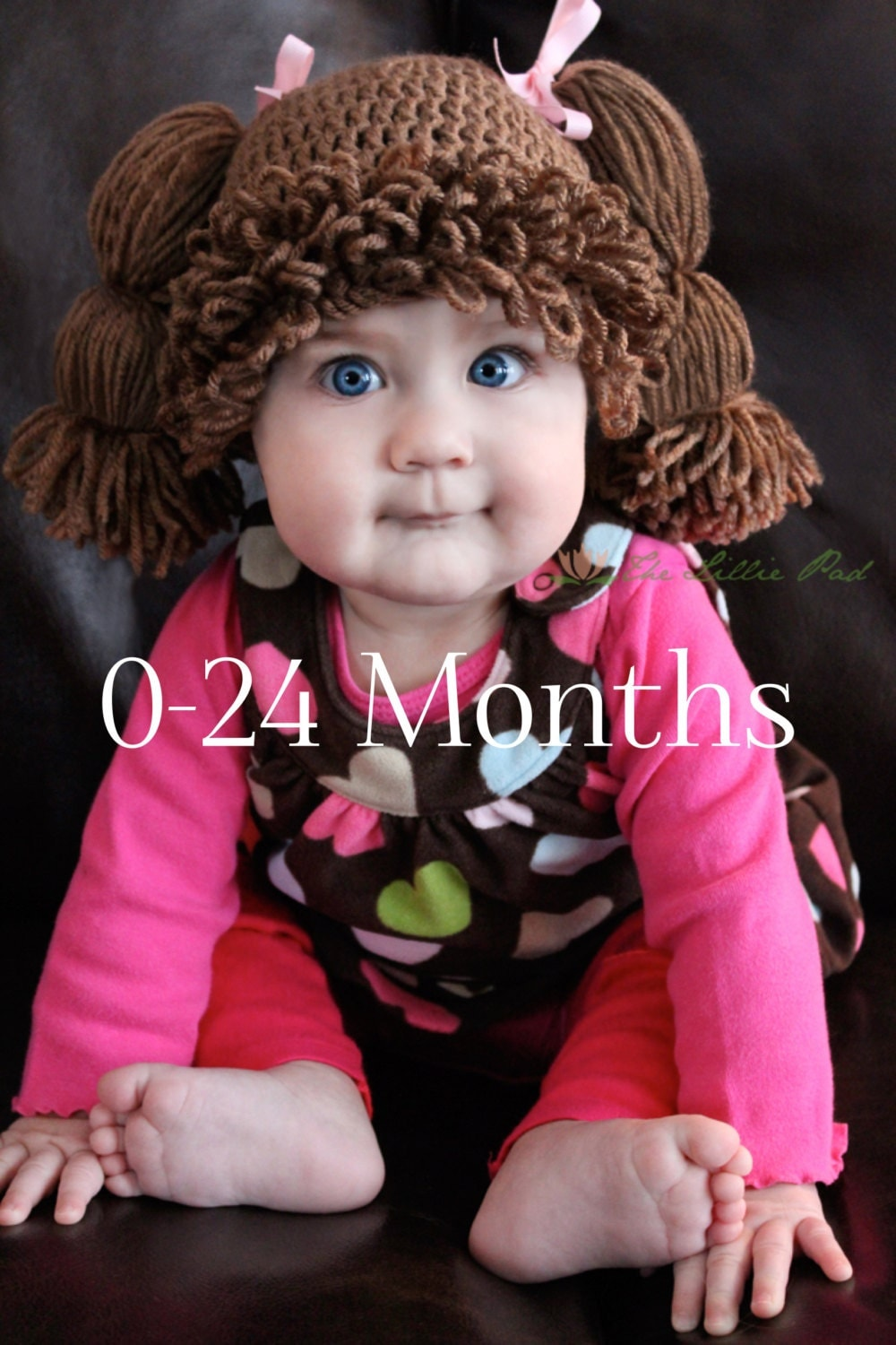Cabbage patch kid hat cabbage patch wig for baby by thelilliepad for Cabbage patch halloween costume