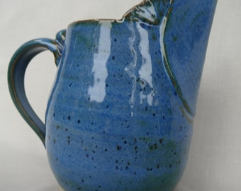 Pitcher handmade on Etsy by IndianHeadClay