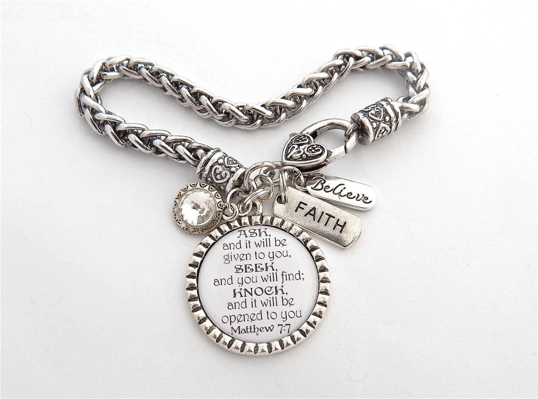 scripture jewelry bible verse bracelet prayer