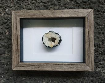 Rustic Framed Geode Slice