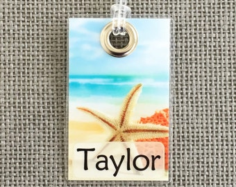 Beach Luggage Tag, Backpack Tag, Diaper Bag & More!