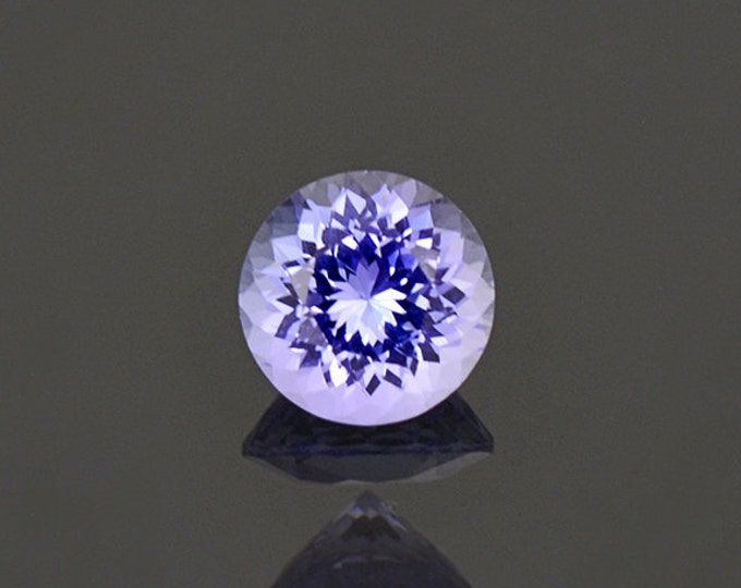 Brilliant Purple Blue Tanzanite Gemstone from Tanzania 0.90 cts