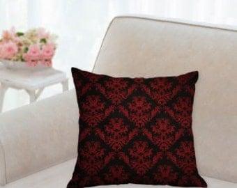 Black & Red Designer Pillow