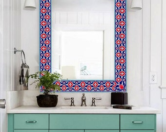 kitchen/ bathroom turkish tile/wall decals designs by bleucoin, Home decor