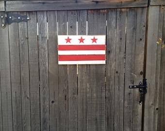 Washington, D.C. flag - small