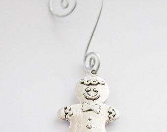 50% OFF Christmas Ornaments, Gingerbread Man Ornament, Gingerbread Cookie Ornament, Gift for Son, Gift for Boyfriend, Xmas present