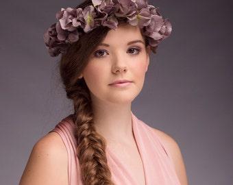 Penelope Hydrangea Flower Crown