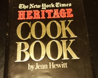 Vintage The New York Times Heritage Cook Book by Jean Hewitt Copyright 1972