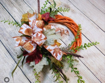 Fall Wreath, Fall Wreath For Front Door, Wreath For Fall, Fall Front Door Wreath, Autumn Wreath, Wreath, Fall Decorations, Harvest Wreath