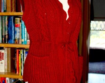Kazakhstani Hand Made Wool Vest