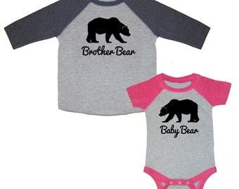 Papa Bear Mama Bear Baby Bear Matching Family By