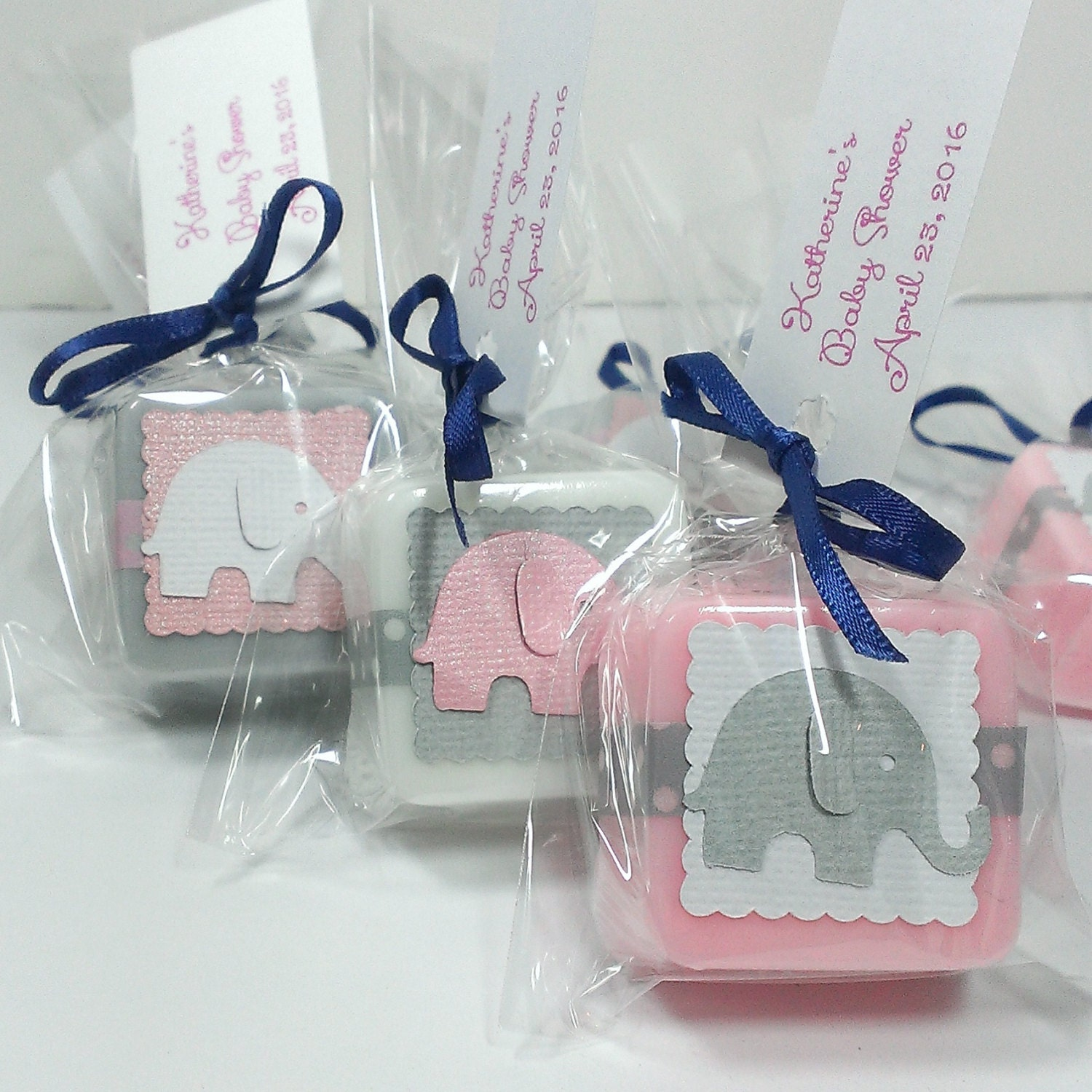 baby shower favors girl elephant baby shower girl by lalalipsie