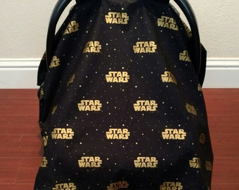 LIMITED EDITION Star Wars Car Seat Canopy