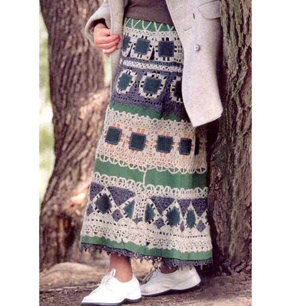 Boho Skirt Pattern 120