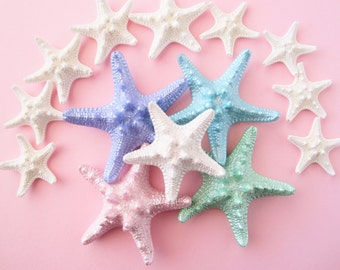 Starfish, Starfish Hair Clip, Mermaid Hair Clip, Knobby Starfish, Starfish Hair Clip, Beach Weddings