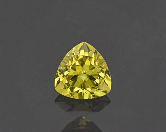 Stunning Yellow Grandite Garnet Gemstone from Mali 0.95 cts.