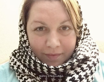Houndstooth Scarf | Made to Order