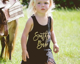 Southern Babe - Fringe Dress - Beach Cover Up - Summer Dress - Boho Babe - Baby Girls - Toddler Girls - Trendy Girls - Hipster Girls