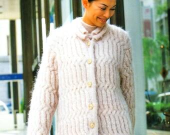 Japanese Craft Book, Spring Summer Knitting Pattern, Knit Jacket Pattern, Knit Coat Pattern, Knit Shawl Pattern, Knit Scarf Pattern