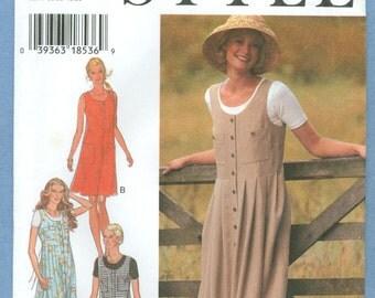1995 Misses' Jumper Size S,M,L,XL (A) - Vintage Style Sewing Pattern 2704