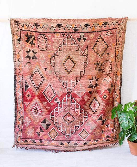 Vintage Moroccan Boujad Rug The Frances Berber