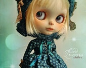 Blythe Dress MIDNIGHT FOREST By Odd Princess Atelier, Ooak, Victorian Outfit, Special Dress
