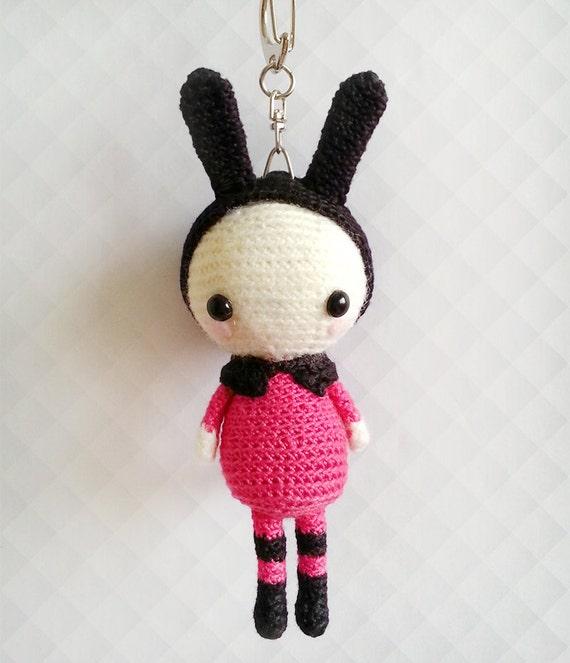 Kawaii Amigurumi Cupcake Keychain : Amigurumi Crochet Doll Crochet Keychain Kawaii Keychain