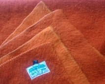 Vintage/ mid-centuries Wool blanket Boerhof 180-242 cm