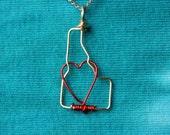 Idaho Love Necklace