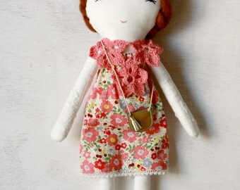 Rag Doll Hand Embroidered