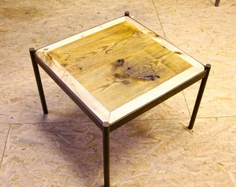 Rebel reclaimed coffeetable 60x60 10% off !!