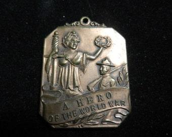 WW1 World War One Coraopolis PA Hero Medal