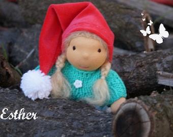 Waldorf doll,christmas doll,christmas toy, waldorf inspired doll, steiner doll, doll waldorf, cloth doll, fabric doll, cuddle doll, handmade