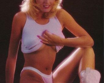 Lynn Austin First Hooters Girl Playboy Centerfold  Rare Poster