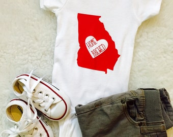 Choose Your Home State! // Home Brewed Onesie or T-Shirt // Beer Onesie