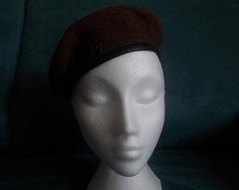 womens vintage beret