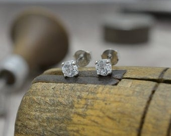 Few studs with rock crystal