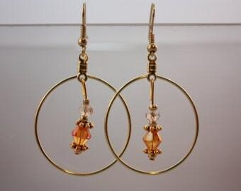 drop & hoop earrings