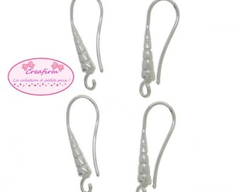 20 silver Platinum with ring earrings