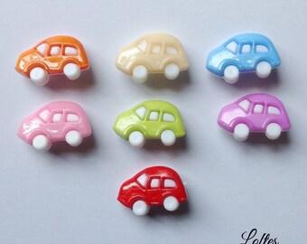 7 car buttons - PB100