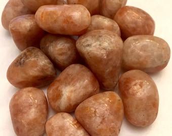Tumbled Sunstone from India