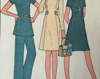 Misses' Dress or Tunic and Pants Pattern McCalls 3327