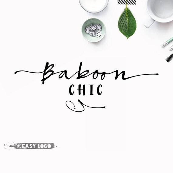 Custom Signature Logo Calligraphy Font Logo Simple Business