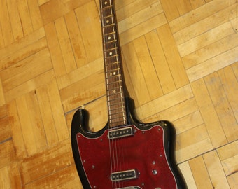 Tonika Sverdlovsk USSR Rare Vintage Electric Guitar Soviet Russian