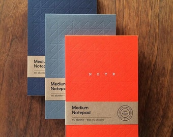 Notepad – Letterpress + Foil