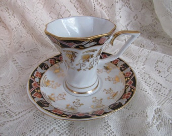 Moga Romania Tea Cup and Saucer